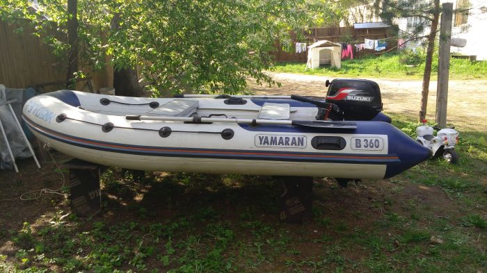 лодка пвх yamaran b360